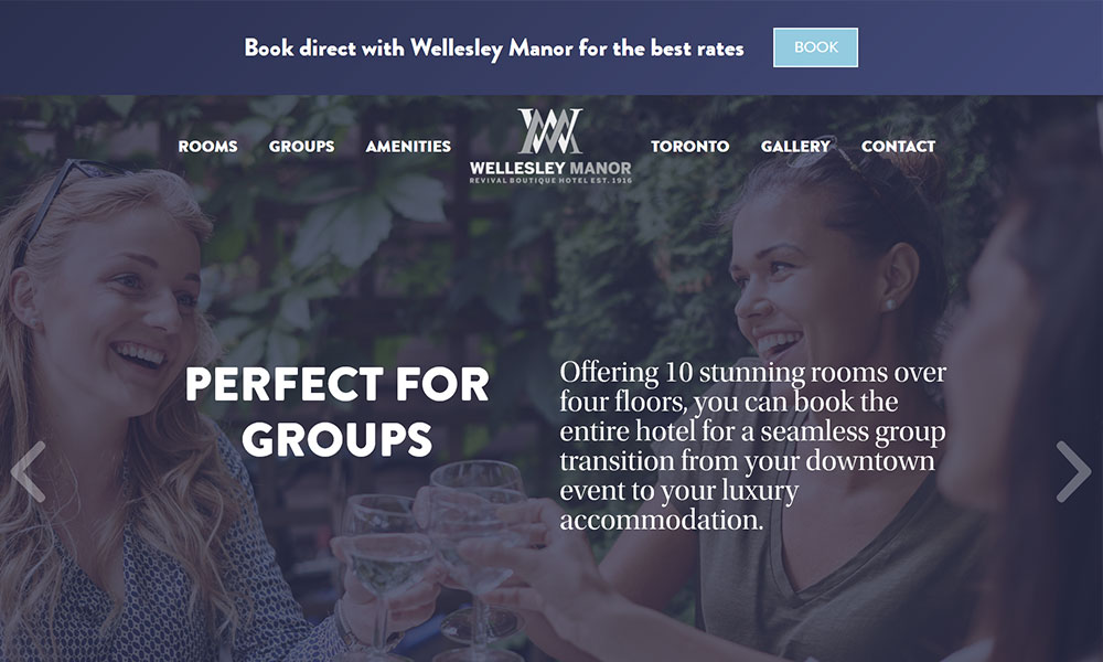 Wellesley Manor Boutique Revival Hotel
